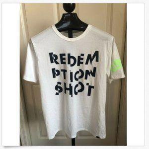 Nike White U.S. Open Tennis Redeem T-Shirt XL NWT